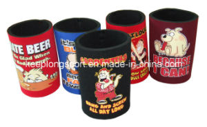 Fashionable Six Cans Neoprene Can Cooler with Shoulder Belt pictures & photos