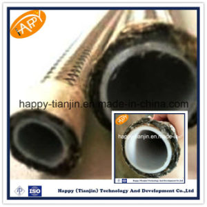 SAE 100 R14 PTFE Lined Hydraulic Hose pictures & photos