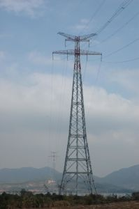 550kv Transmission Tower Used Angle Steel and Steel Pipes pictures & photos