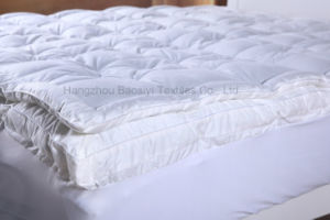 Dual Layer White Duck Feather and Down Mattress Topper pictures & photos