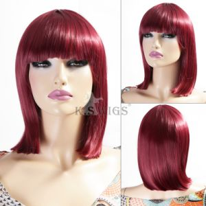 Christmas Party Wig Japanese Kanekalon Synthetic Wig pictures & photos