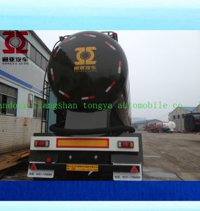 Bulk Cement Tanker Semi Trailer Factory Tongya Bulk Cement Tanker Truck Trailer pictures & photos