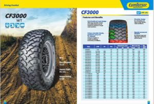 31X10.5r15lt Mud Terrain Tyre for Light Truck CF3000 pictures & photos
