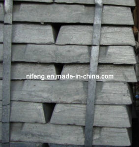High Purity Zinc Ingot 99.995%