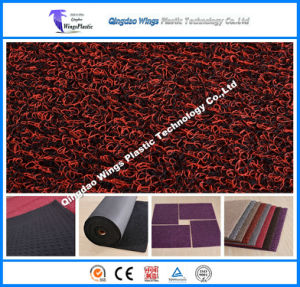Spike Backing Fireproof PVC Coil Car Mat pictures & photos