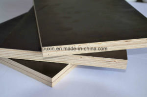 High Grade 120GSM Brown Film Faced Shuttering Plywood for Building pictures & photos