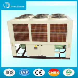 Low Temperature 200tr Air Cooled Screw Water Chiller pictures & photos