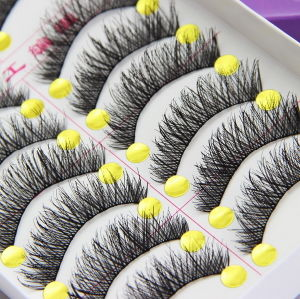 Fur Lashes Cost Woven Cotton Stalk False Eyelashes Fashion pictures & photos