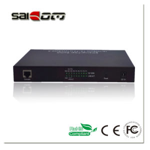 1000Mbps Carrier-grade Intelligent 2GX+2FX+6FE Optical IP Switch pictures & photos