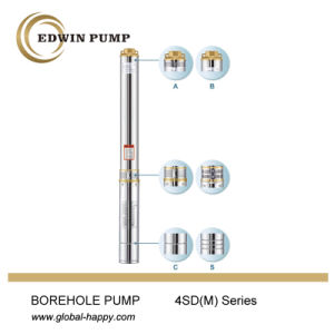 4sdm Deep Well Borehole Submersible Water Pump pictures & photos