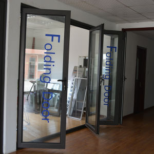 High Quality Thermal Break Aluminum Profile Folding Door K07006 pictures & photos