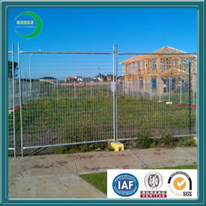 Hot DIP Galvanized Temporary Fence with Gate pictures & photos