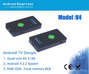 Androd 4.2 Mini PC Bluetooth Quad Core Rk3188 Smart TV Box