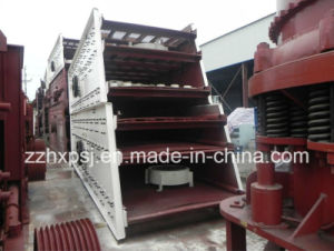 Two Mesh Deck Inclined Vibrating Screen for Crushed Aggregate pictures & photos