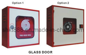 Glass Door Fire Hose Reel Cabinet pictures & photos