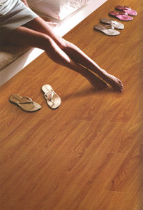 8.3mm 12.3mm U Groove High Quality HDF Laminate Flooring pictures & photos