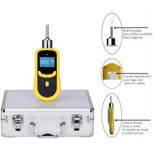Portable Ash3 Gas Detector Industrial Gas Leak Monitor Gas Alarm System