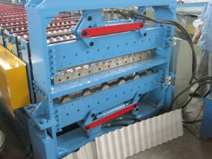 Roof Panel Double Layer Roll Forming Machine pictures & photos