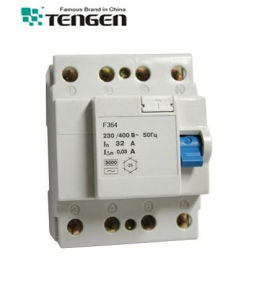 F360 F362 F364 Residual Current Device RCD 2p 4p 16~63A pictures & photos