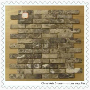 Chinese Grey Marble 3D Mosaic Tile pictures & photos