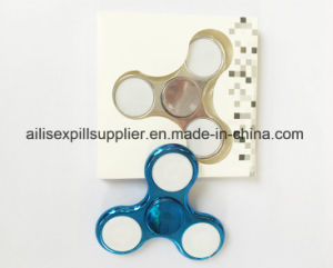 Factory Price Metallic Color Hand Spinner Plastic pictures & photos