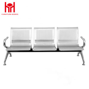 Popular Chinese Furniture Three Seat Steel Public Waiting Airport Chair pictures & photos