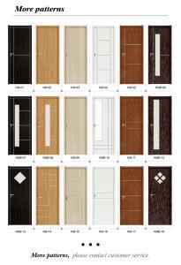 Waterproof Eco-Friendly Bathroom Bedroom PVC Wrapping Door (KM-02) pictures & photos