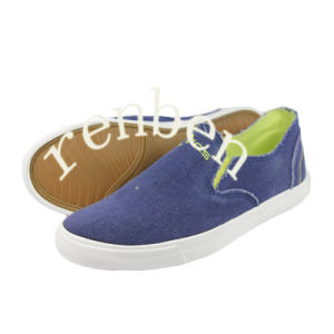 Hot New Arriving Style Men′s Canvas Casual Shoes pictures & photos