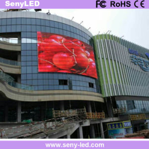 P8 High Brightness Energy Saving Full Color Outdoor Fixed LED Display for Advertising pictures & photos