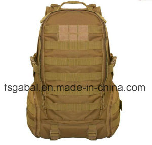 Outdoor Camouflage Rucksack Military Tactical Sports Travel Bag Backpack pictures & photos