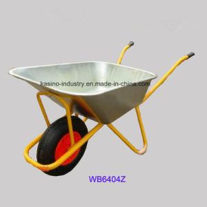 200kgs Heavy Duty Construction Wheelbarrow/Wheel Barrow (WB6404Z) pictures & photos