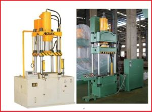 Four Columns Drawing Hydraulic Press, Press Machine 100 Tons pictures & photos