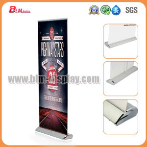 Aluminum Teardrop Display Roll up Scrolling Banner Stand