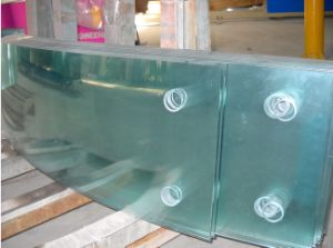 Bent /Bend Tempered Glass Toughened Glass Clear Glass pictures & photos