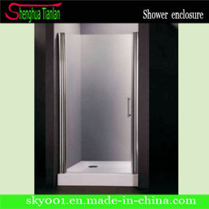 Low Tray Square Frameless Glass Shower Door (TL-407) pictures & photos