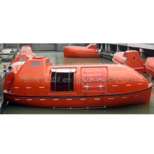 Marine Partially Enclosed Lifeboat for Lifesaving and Rescuing pictures & photos