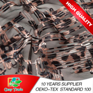 New Design Belt Embroidery with Leopard Printing Style pictures & photos