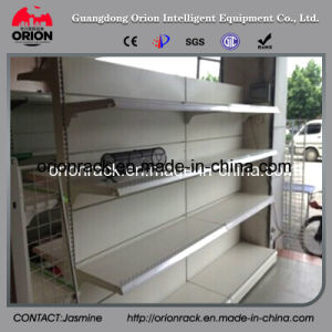 Double Sided Supermarket Storage Rack pictures & photos