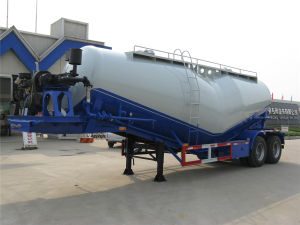 3 Axle 30tons Cement Tanker Semi Trailer pictures & photos