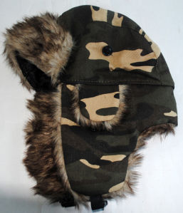 Winter Trapper Hat, Coldweather Cap Md13071