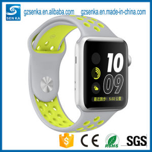 New Premium Sport Luminous Silicone Iwatch Strap 38mm pictures & photos