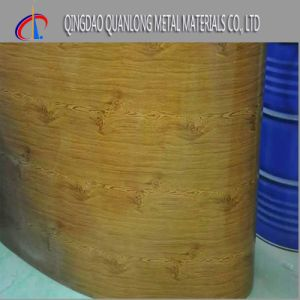 Wood Pattern Color Printing Prepainted Steel Coil pictures & photos