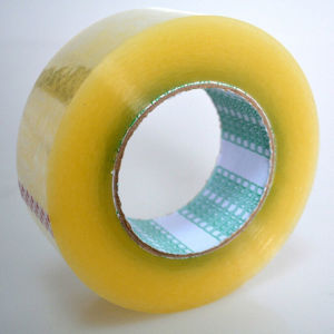 Strong Viscosity BOPP Adhesive Plastic Tape with Custom Size pictures & photos