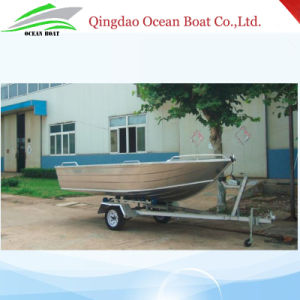 4.5m 15FT Tenvi Basic Aluminum Boat Small Craft Fisherman Motor Boat with Ce pictures & photos