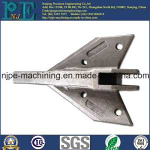 Custom Precision Zinc Plating Steel Casting Decorations pictures & photos