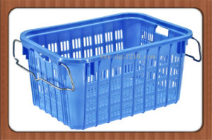 Colored Durable High Quality Plastic Basket for Storage Food, Fruits
