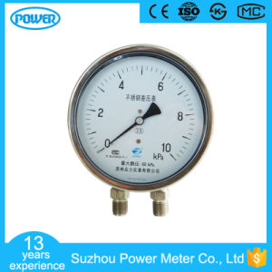 4′′ 100mm All Stainless Steel Differential Pressure Gauge pictures & photos