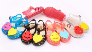 PVC Shoes with Bowknot Decoration Jelly Shoes (KR1688) pictures & photos