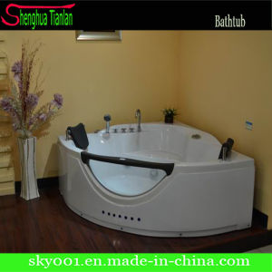 Hot Acrylic Film Corner Modular Bath Tub (TL-314) pictures & photos