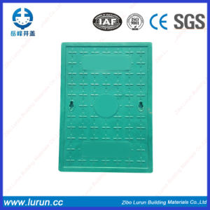 400*600 FRP Vented Composite Manhole Drain Cover pictures & photos